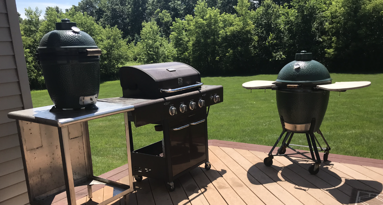 The Big Green Egg Vs A Gas Grill Which Should You Buy My