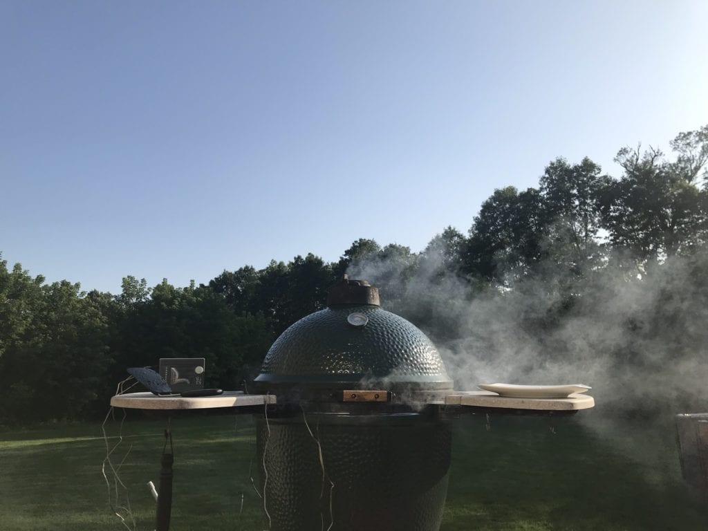 Big Green Egg Smoking