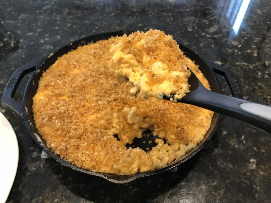Smoked Mac and Cheese on the Big Green Egg