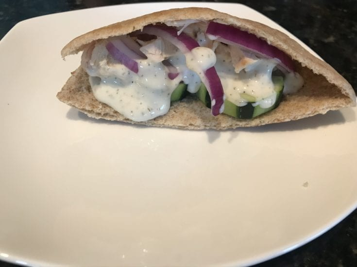 Smoked-Chicken-Gyros-with-Tzatziki-Sauce-Add-Tzatziki-Sauce-3
