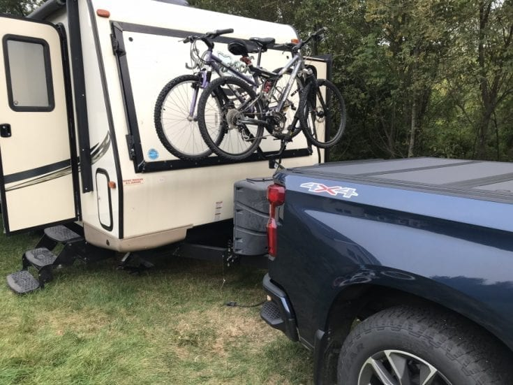 Lippert Jack-It Double Bike Carrier System