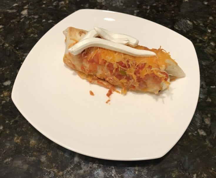 Smoked-Chicken-Enchilads-Plated