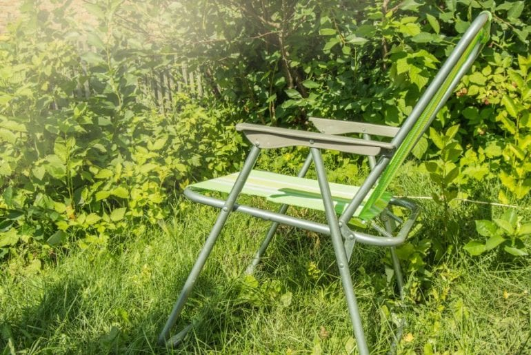 Folding Chair Outdoors
