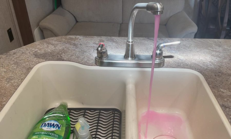 Own - How to Dewinterize Forest River Shamrock Roo Travel Trailers - Kitchen Sink Run Hot Water Clear
