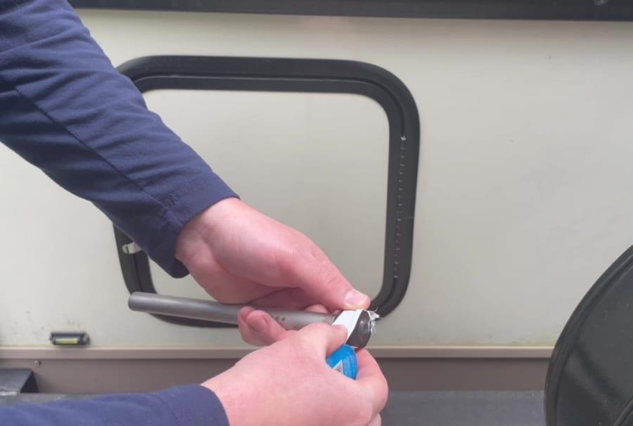 Own - Replace Shamrok Roo Water Heater Anode - Teflon Tape