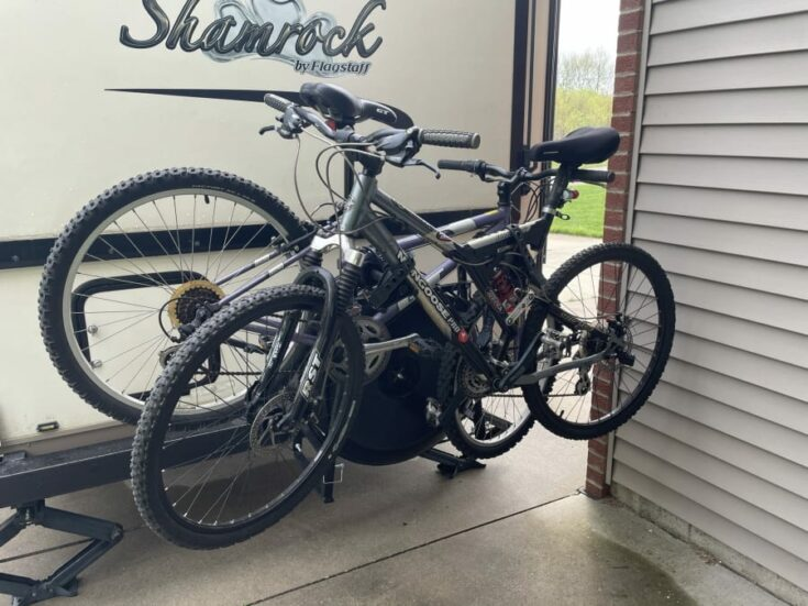 Own - Swagman Around the Spare Tire Bike Rack - Loaded with Bikes b