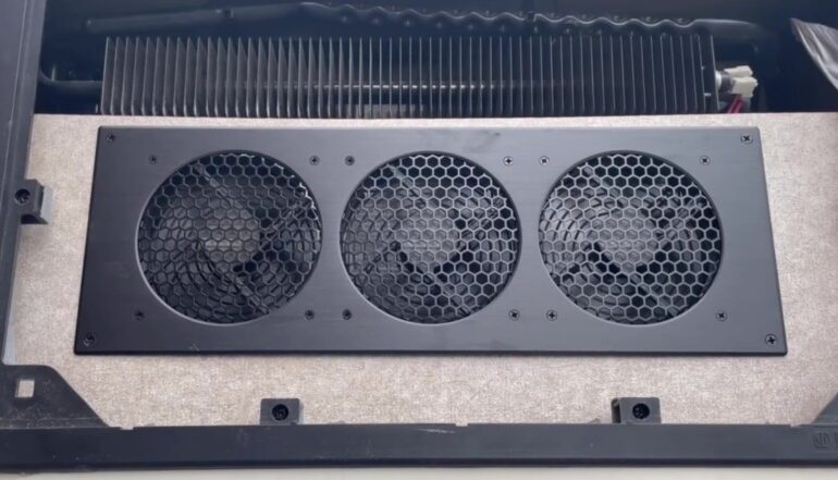 Travel Trailer RV Camper Fridge Does Not Cool on Hot Days - Fans in Operation