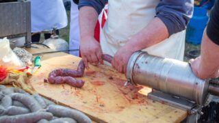 Making Homemade Sausage in a Natural Casing